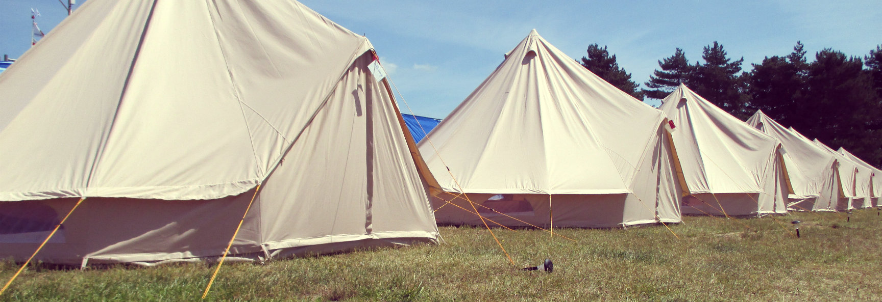 Bell Tents for Slider